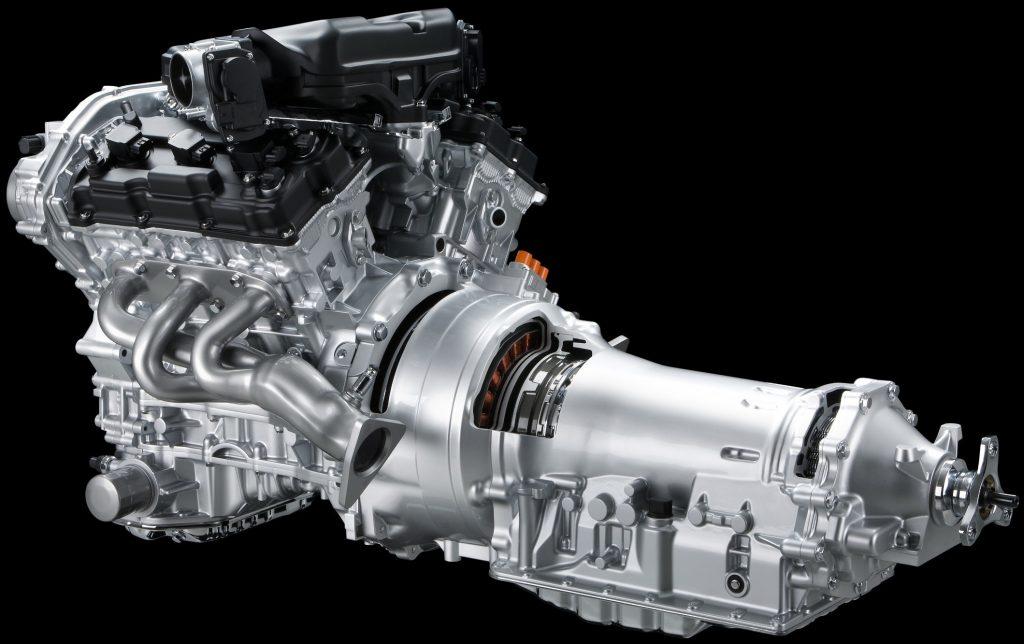 Гибридный силовой агрегат Nissan FR
