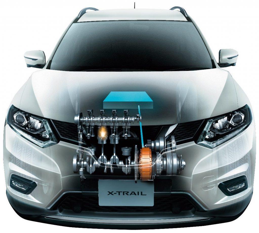 Nissan X-Trail гибрид